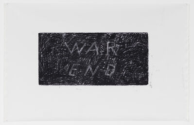 David Lamelas, 'War End', 2016