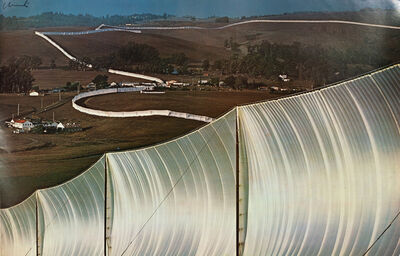 Christo and Jeanne-Claude, 'Running Fence and Valley Curtain'