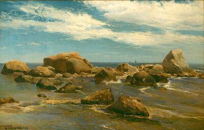 Mauritz Frederik Hendrik de Haas, 'Rocky Coast View ', ca. 1880