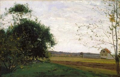Camille Pissarro, 'Landscape', about 1865