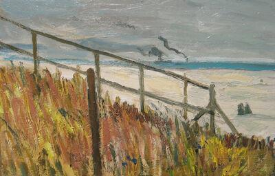 Bernard Lamotte, 'Couple on the Beach', 20th Century