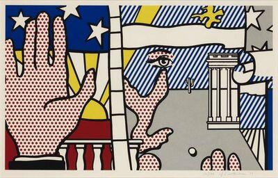 Roy Lichtenstein, 'INAUGURAL PRINT (CORLETT 151)', 1977