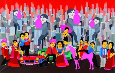 Farhad Hussain, 'Sans Titre'
