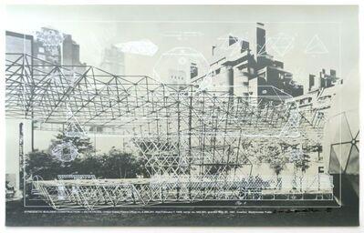 R. Buckminster Fuller, 'Synergetic Building Construction- Octetruss from the portfolio Buckminster Fuller: Inventions-Twelve Around One', 1981