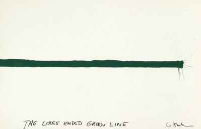 Gary Kuehn, 'The loose ended green line'
