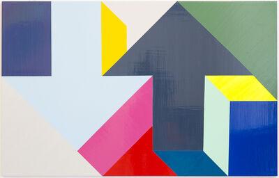 Tony Tasset, 'Arrow Painting 26', 2015