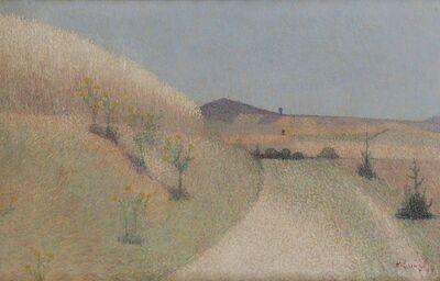 Achille Laugé, 'Le chemin bordé de chardons', 1897