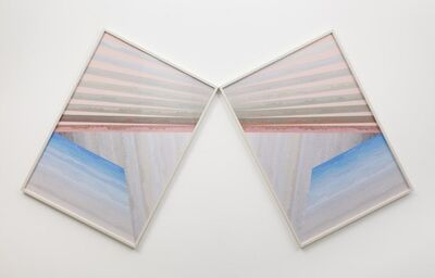 Haegue Yang, 'Folded in Ray - Trustworthy Off Horizon #116A, B', 2011