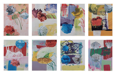 Pia Fries, 'Untitled (Suite of Eight Silkscreens)', 1999