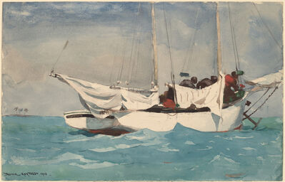 Winslow Homer, 'Key West, Hauling Anchor', 1903