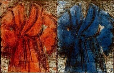 Jim Dine, 'Red and Blue Robe', 1999