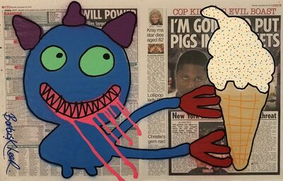 Bortusk Leer, 'Ice Cream Annie - Double Tabloid', 2014