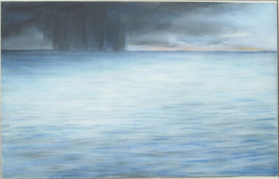 "April Gornik, '""Untitled (Storm at Sea)""', 1980"