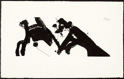 Robert Motherwell, 'Dance I', 1979