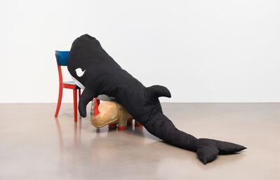 Cosima von Bonin, 'KILLER WHALE WITH LONG EYELASHES I (RHINO* VERSION) *Rhino by Renate Mueller, Germany, 1960s', 2018