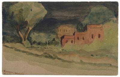 Ramendranath Chakravorty, 'UNTITLED(Ghatsila)', 1954