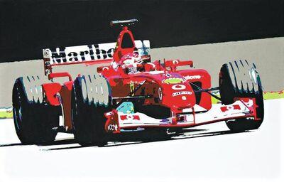 Beatrice Antalya, 'Supercar F1', 2018