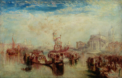 J. M. W. Turner, 'Depositing of John Bellini's Three Pictures in La Chiesa Redentore, Venice', 1841