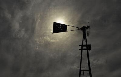 Mark Klett, 'Abandoned windmill, Bates Well, Cabeza Prieta, from Camino del Diablo', 2013