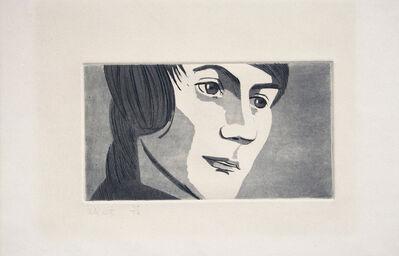 Alex Katz, 'Timmie', 1967