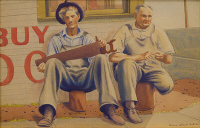 Clarence Holbrook Carter, 'Carpenters' Rest', 1933