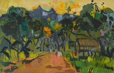 Bernard Lamotte, 'Tahiti: Road in Puna'auia', 20th Century