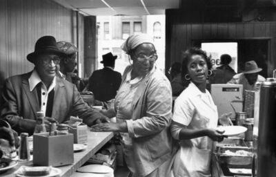 Chester Higgins, Jr., 'Adele's, Harlem', 1974