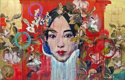 Hung Liu, 'Strings', 2015