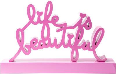Mr. Brainwash, 'Life is beautiful - Pink', 2019