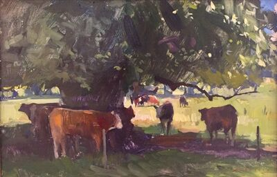 Marc Dalessio, 'Cows Under Cover', 2018