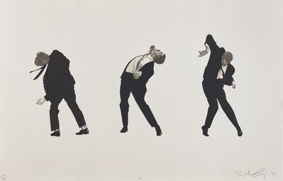 Robert Longo, 'Men In The Cities (I)', 1990