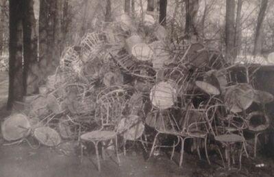Deborah Turbeville, 'Unseen Versailles (Pile of Chairs)', 1980