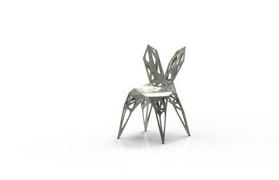 Zhoujie Zhang, 'MC009-F-Matt (Endless Form Chair Series)', 2018