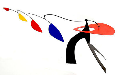 Manuel Marin, 'Untitled (red, yellow blue mobile on black base)', ca. 1990