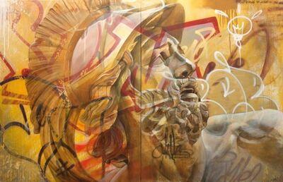 PichiAvo, 'Untitled (Urban Warrior)', 2017
