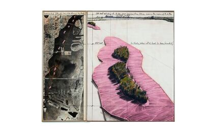 Christo, 'Sourrounded Islands (Project for Biscayne Bay, Miami)', 1981