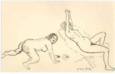 Marcel Vertes, 'Erotic Drawing no. 17', 20th century