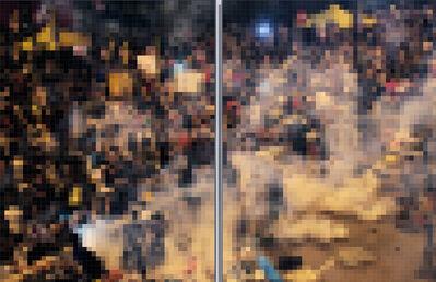 Wang Guofeng, 'Pixelated 2014 No. 8', 2014