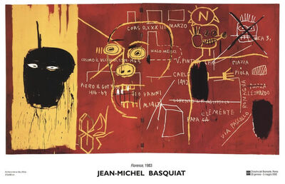 Jean-Michel Basquiat, 'Florence 1983', 2002
