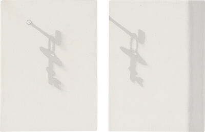 Jiro Takamatsu, 'Two works: (i) Shadow No. 1467; (ii) Shadow No. 1468'