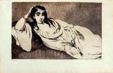 Édouard Manet, 'Odalisque', 1968