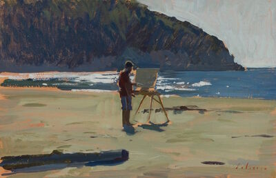 Marc Dalessio, 'Ben Painting', 2015
