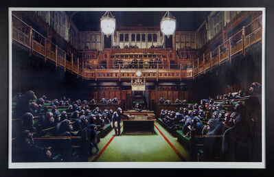 Banksy, 'Monkey Parliament', 2009