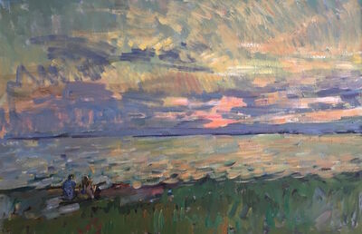 Ben Fenske, 'Watching a Sunset', 2017