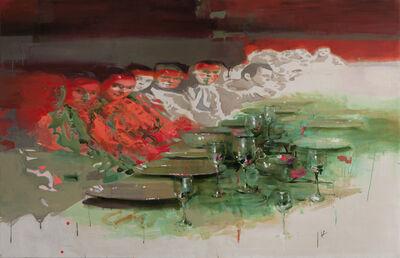 Natalya Zaloznaya, 'Delight. Company 1, 110х170', 2020