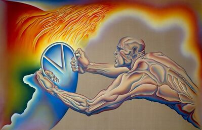Judy Chicago, 'Driving the World to Destruction', 1985