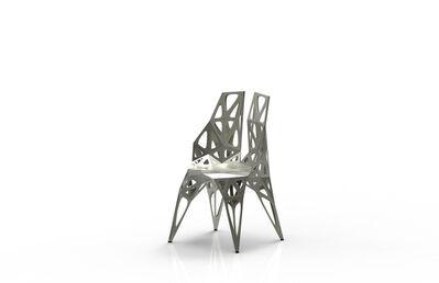 Zhoujie Zhang, 'MC010-F-Matt (Endless Form Chair Series)', 2018