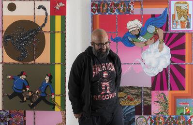 Alan Shaffer, 'Portrait of Amir Fallah', 2020