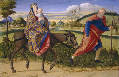 Vittore Carpaccio, 'The Flight into Egypt', ca. 1515