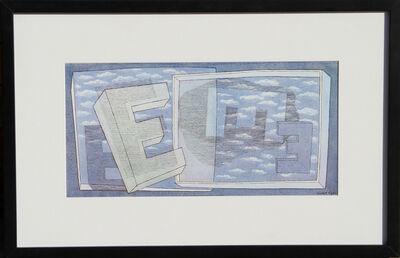Herbert Bayer, 'Tender Picture E', 1965